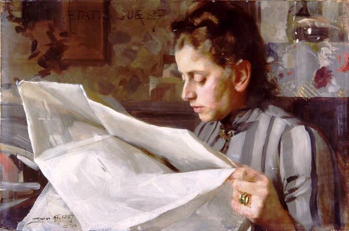 9 Андерс Цорн – Эмма Цорн 1887 (700x464, 311Kb)