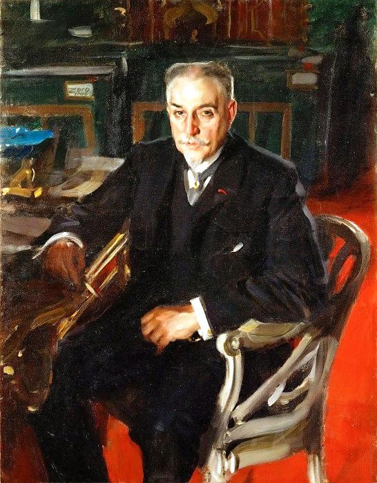 10 Андерс Цорн – Антиквар Альфред Берделе 1906 (546x700, 356Kb)
