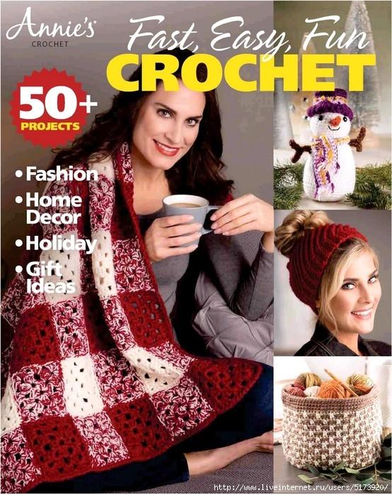 Annie's Fast, Easy, Fun Crochet — Fall 2018