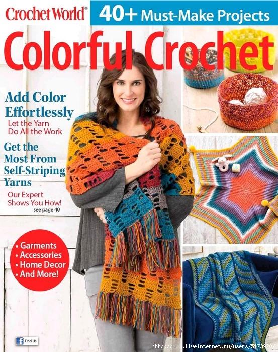 Crochet World Colorful Crochet — Fall 2018.
