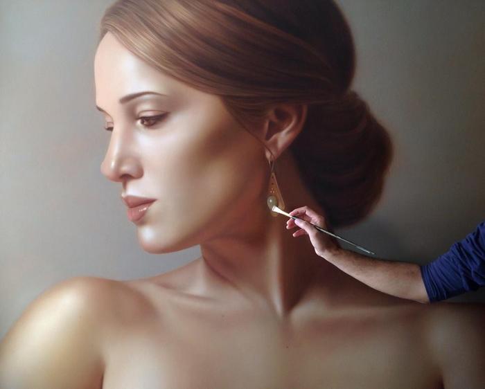 Когда художник женщину рисует... (700x562, 223Kb)