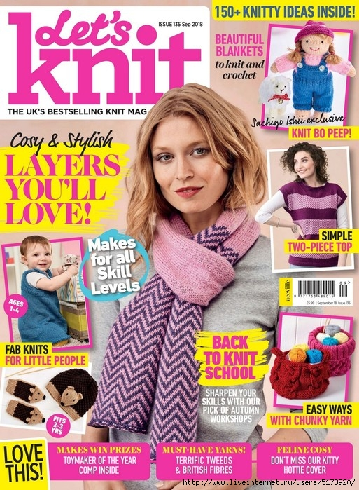 Let's Knit — September 2018