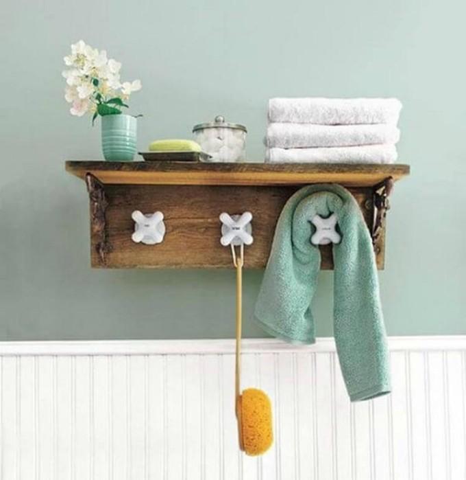 17 стильных и доступных идей хранения и организации вещей в небольшой ванной