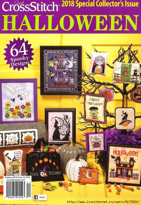 Just CrossStitch — Halloween 2018.