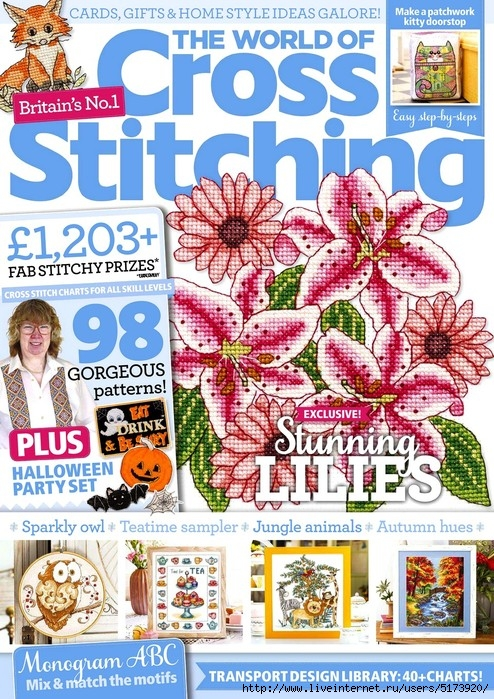 The World of Cross Stitching — Issue 272.