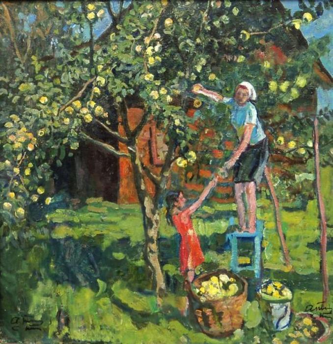 Картинки на тему фруктовый сад