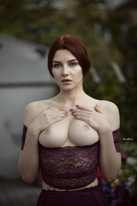 Inga Sunagatullina Model Boobs Redhead Women Xxx Com 1