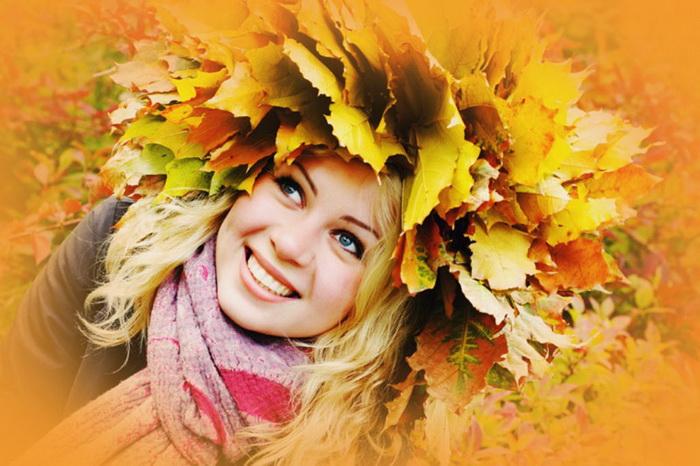 открытки осень наступила фото