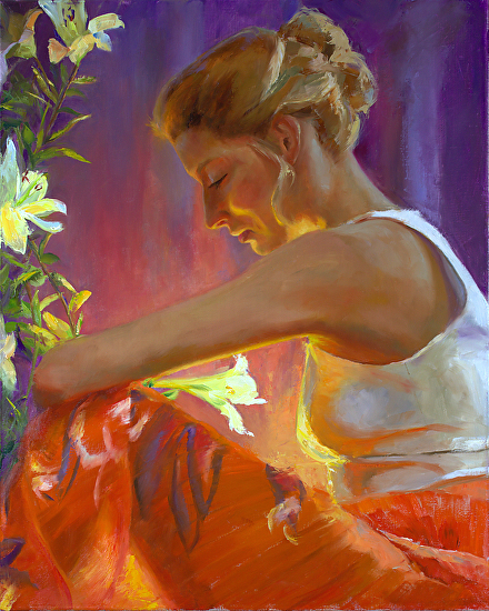 Michelle Murray 1962 - American Figurative painter - Tutt'Art@ (1) (400x550, 393Kb)