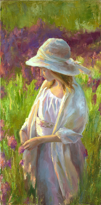 Michelle Murray 1962 - American Figurative painter - Tutt'Art@ (3) (345x700, 354Kb)