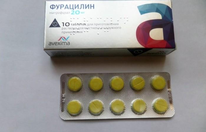 Можно ли фурацилином полоскать десна