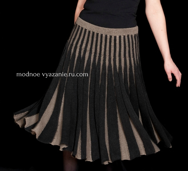 юбки вязаные спицами поперек укороченными рядами обсуждение на