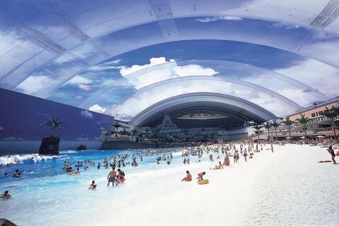 Лучшие аквапарки мира, которые выделяются на фоне остальных