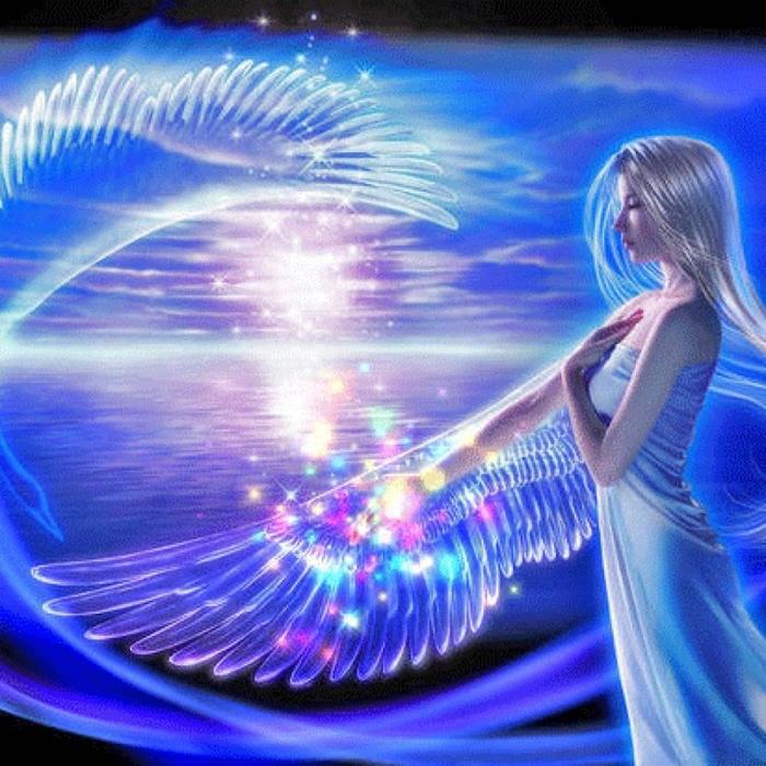 Ангел хранитель анимации картинки, открытки новый год