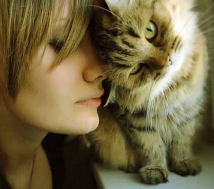 Как кошки и девушки выбирают друг друга: 7 интересных фактов