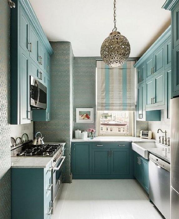 7 хитростей интерьера для маленькой кухни, чтобы зрительно увеличить пространство