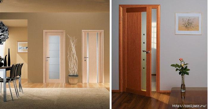 Белые двери ламинат какого цвета