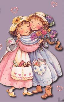 Картинки групп, открытка две куклы