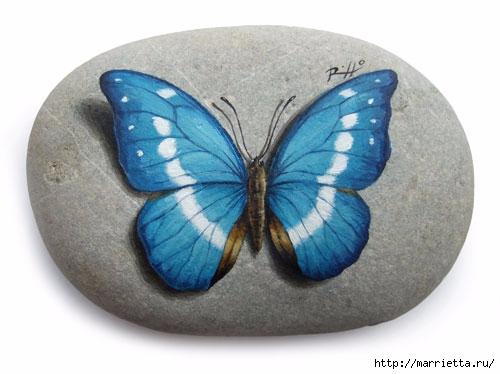 Художественная роспись на камне