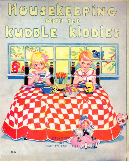 Housekeeping with the kuddle kiddies (411x512, 290Kb)