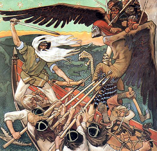 09 Gallen-Kallela_The_defence_of_the_Sampo (520x499, 616Kb)