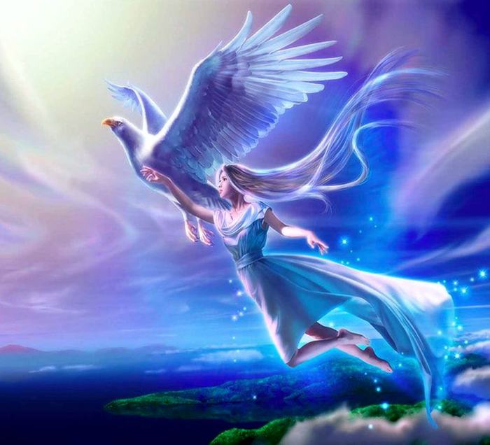 Звезда в руках ангела