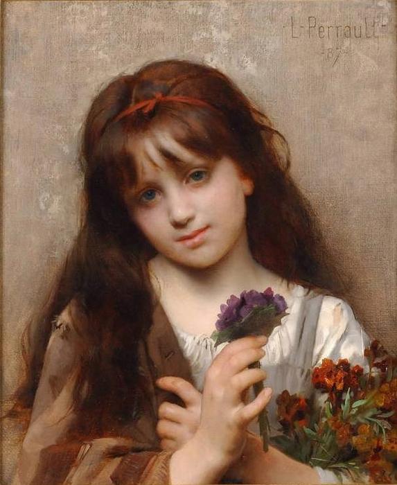 1385207633-perrault_leon_the_flower_vendor (573x700, 261Kb)