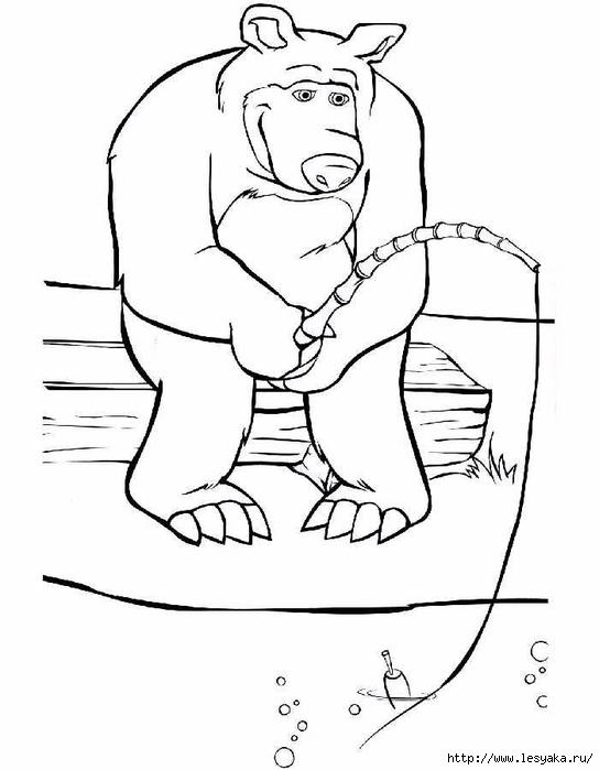 Раскраски Маша и Медведь для распечатки детям!. Обсуждение ...