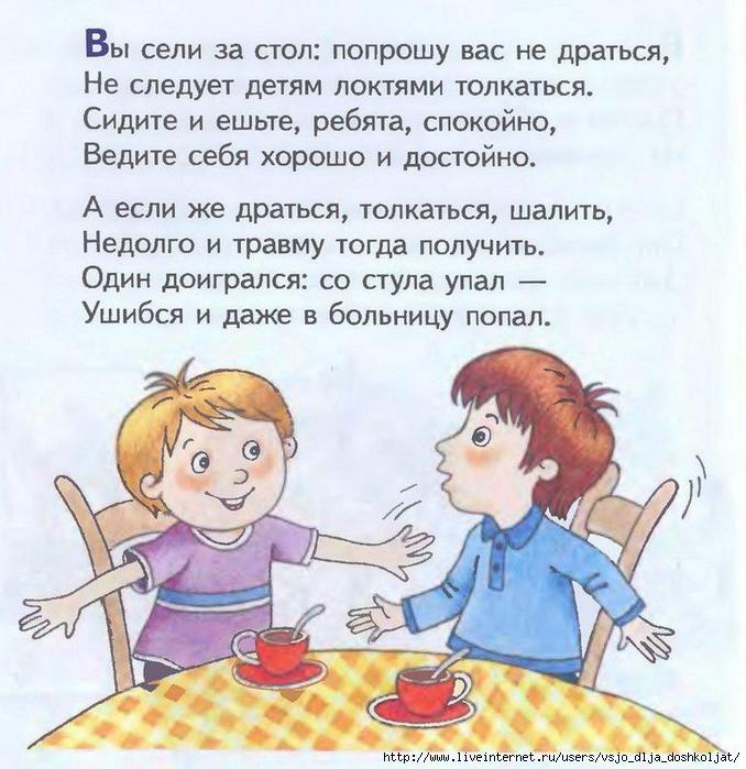 Картинка футболку, этикет для детей в картинках и стихах