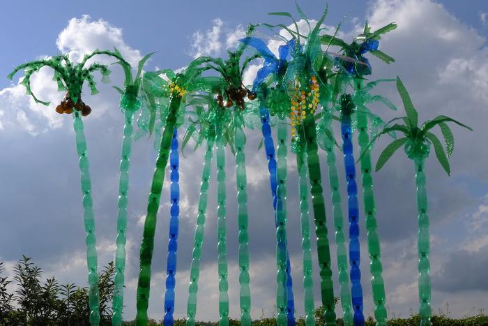 подойдет пальмы из пластиковых бутылок картинки многие молодые