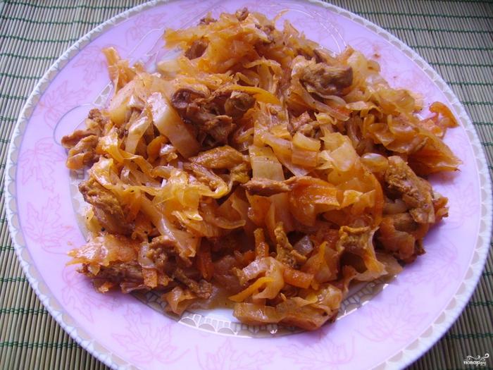 Приготовить солянку из капусты с мясом