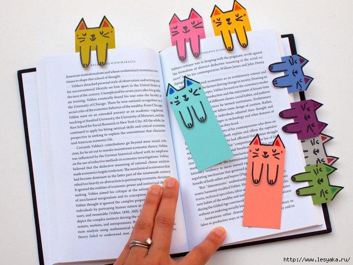 Как сделать закладку для книг из бумаги своими руками 92