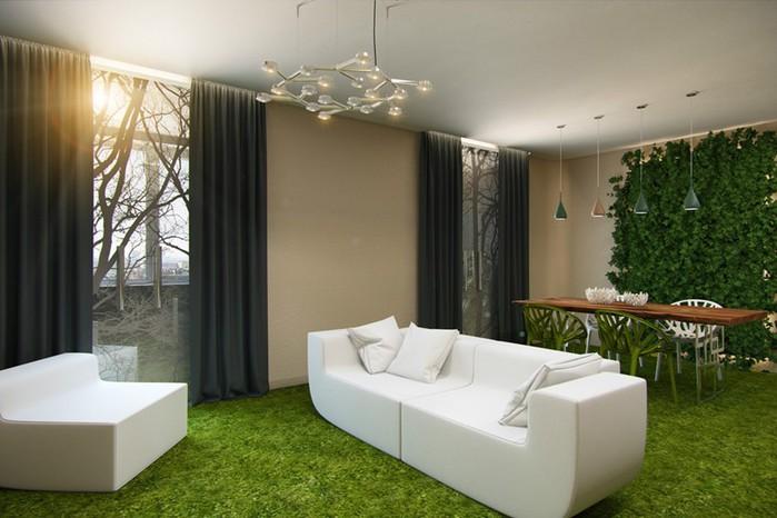 Фитодизайн интерьера — оформление дома цветами