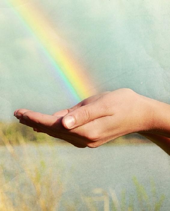 Руки радуга картинки