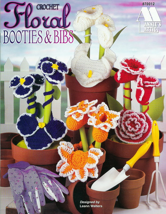Floral Bibs and Booties 1 (543x700, 153Kb)