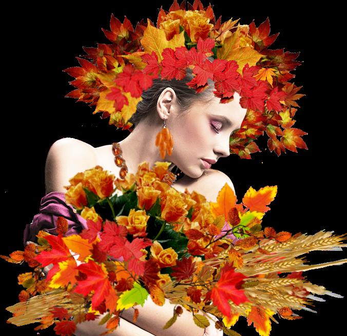 Осенняя красавица картинка