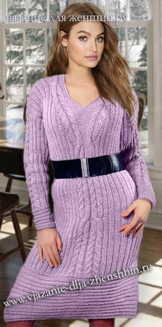 564439a01f2 вязаные платья спицами - Самое интересное в блогах