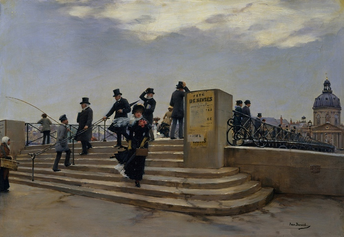 Jean_Béraud_A_Windy_Day_on_the_Pont_des_Arts (700x483, 154Kb)