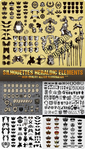 Превью 1311053841_stock-vector-silhouettes-heraldic-elements (399x700, 387Kb)