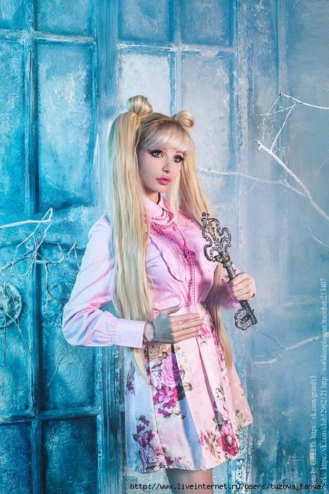 Видео блондинка катрин гламурная куколка