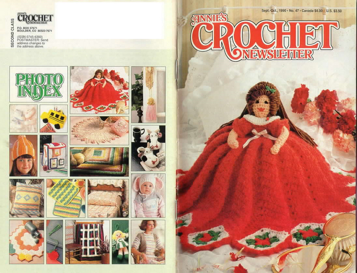 ANNIE'S CROCHET NEWSLETTER - SEPT-OCT '90 - FC & BC [no pg 1] (700x536, 469Kb)