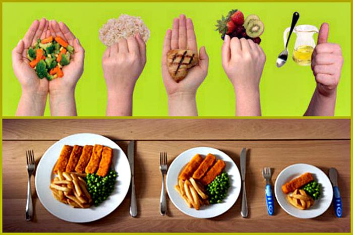 Умеренное питание похудела