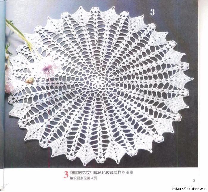вязаные салфетки женские китайские особо стараться