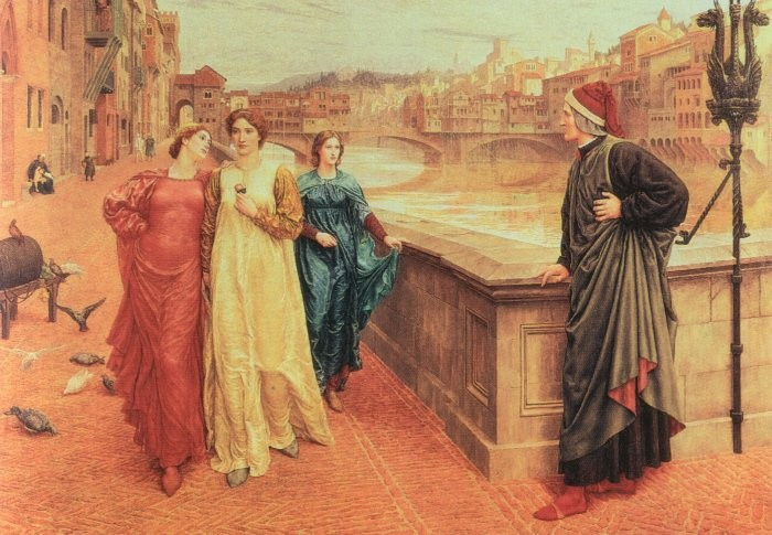 Henry_Holiday_-_First_Meeting_Of_Dante_and_Beatrice (700x485, 108Kb)