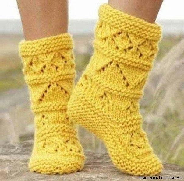 вязание спицы носки тапочки варежки перчатки записи в рубрике