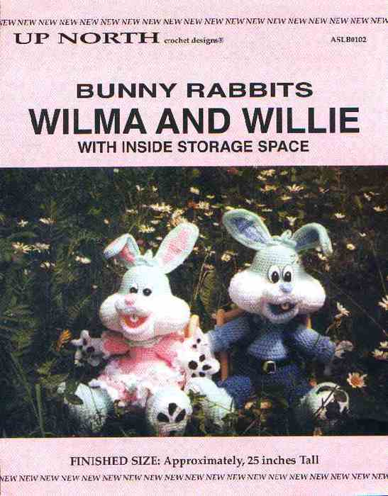 Wilma & Willie rabbits (547x700, 40Kb)
