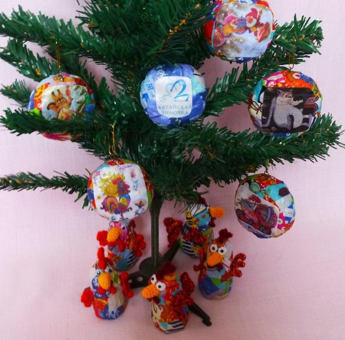 Новогодние сувениры своими руками игрушки фото 641