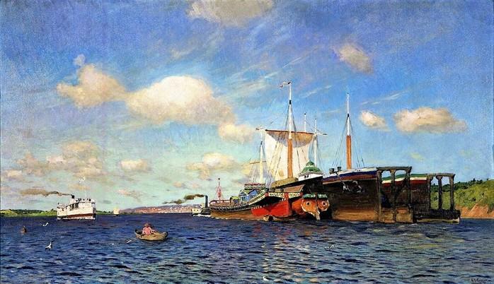 Свежий ветер. Волга 1895 (700x402, 110Kb)