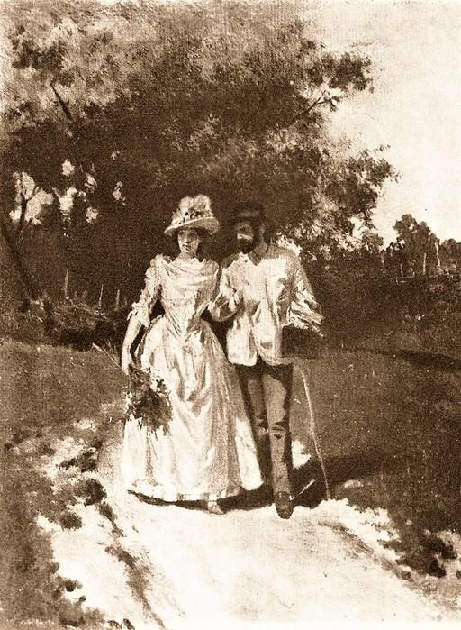 Алексей Степанович Степанов И.И. Левитан и С.П. Кувшинникова 1887 (512x700, 155Kb)