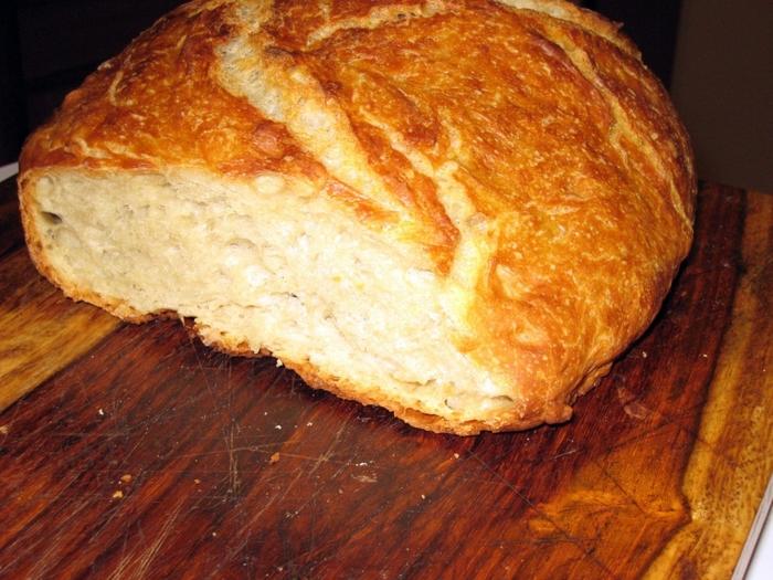 Выпечь ржаной хлеб в духовке